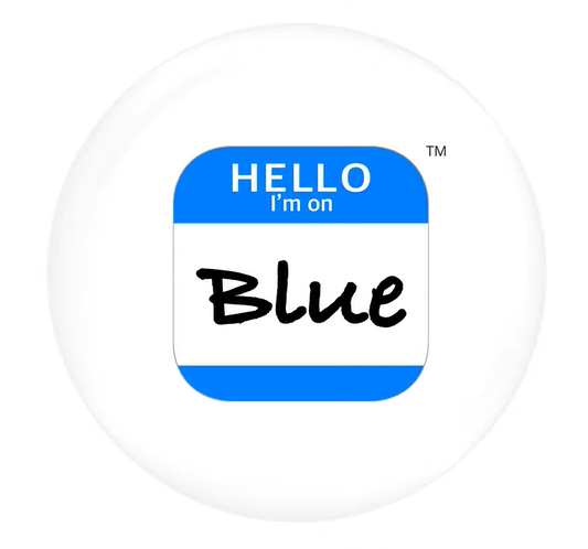 Blue Smart Button